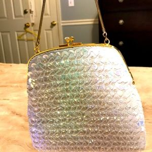Vintage 70,s Richere sequence and beaded purse